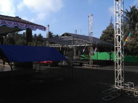 Persiapan Acara Wedang Ronde ADI TV di Murtigading