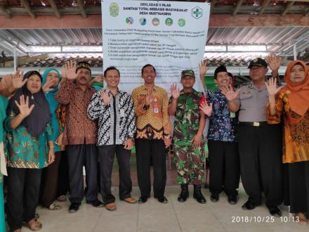 Deklarasi 5 Pilar STBM Desa Murtigading