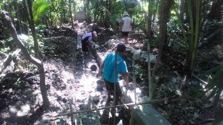 Bangket Saluran Irigrasi Pedukuhan Peciro Desa Murtigading