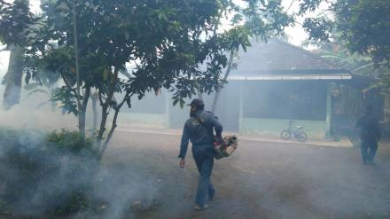 Pemberantasan Nyamuk, Fogging di Pedukuhan 16 Murtigading