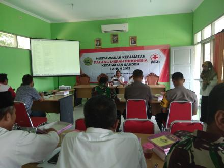Musyawarah Kecamatan Palang Merah Indonesia