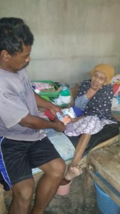 Penerimaan bantuan dana Lanjut usia