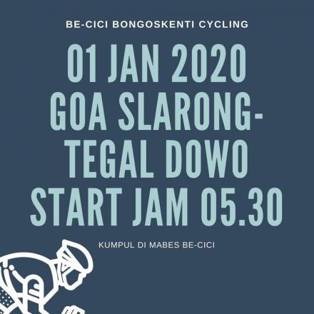 Kelompok Sepeda Be-Cici, Agendakan Happy Gowes Tahun Baru