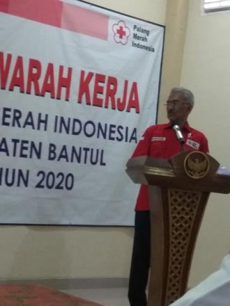 Musyawarah Kerja Palang Merah Indonesia Kabupaten Bantul