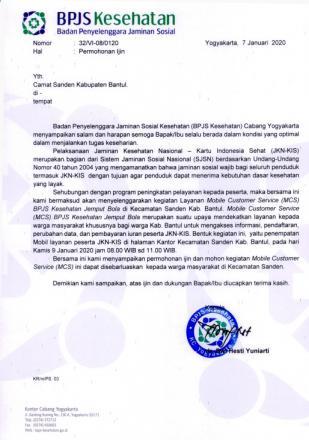 Informasi BJBS, Warga Silahkan Hadir