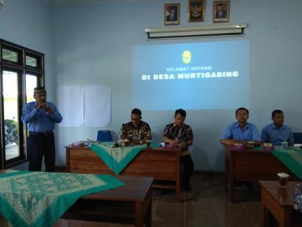 Kunjungan dari Kecamatan Gedung Loteng Purworejo