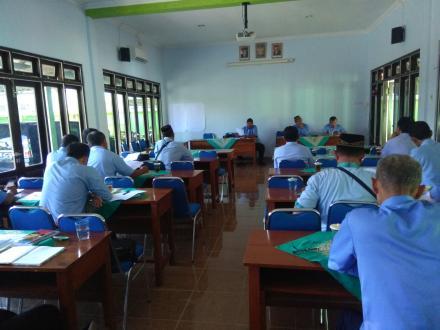 Koordinasi Pamong Desa Murtigading