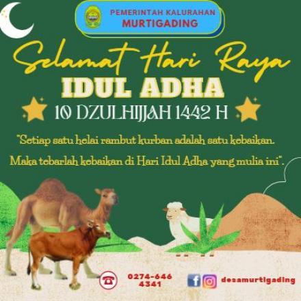 Selamat Hari Raya Idul Adha 1442 H