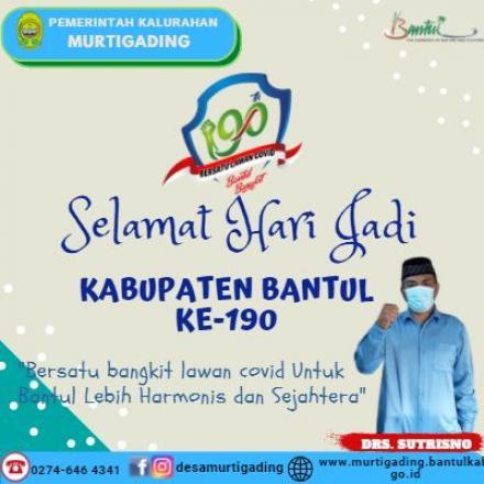 HUT Kabupaten Bantul ke-190