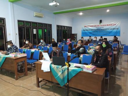 Musyawarah Kalurahan RKP-Kal Tahun 2022 via zoom meeting