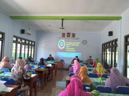 Pelatihan Petugas Pendataan SDGs Kalurahan Murtigading