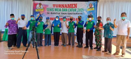 Turnamen Tenis Meja dan Catur se Kabupaten Bantul